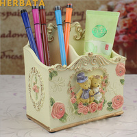 Bear Craft Kawaii Multifunction Pen Holder Pens stand Pencil Holders for Desk Large New Office Accessories Supplies Stationery