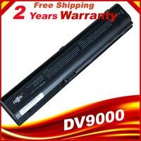 Bateria do portátil para HP Pavilion dv9000 dv9100 dv9200 dv9300 dv9400 dv9500 dv9600 dv9700 dv9800 dv9900 Baterias p/ laptop     -