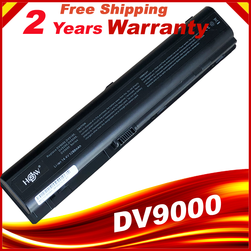 Laptop Battery For HP Pavilion Dv9000 Dv9100 Dv9200 Dv9300 Dv9400 Dv9500 Dv9600 Dv9700 Dv9800 Dv9900
