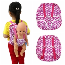 Children Kids Backpack & Doll Carrier Sleeping Bag For 18 inch Our Generation American  Gift for Girls Accessories