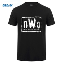ФОТО nieuwe wereld orde mannen worstelen t-shirt tshirt korte mouw tops t-shirt hot topic mannen korte mouw