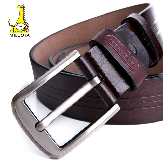 Vintage Style High Quality Genuine Leather Belt For Men