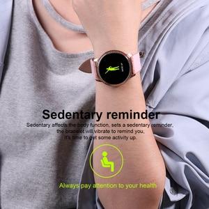 Image 3 - Montre bracelet pour hommes, moniteur de pression artérielle du sommeil, étanche, podomètre, calories, sport, téléphone Android, luxe, montre pour femme