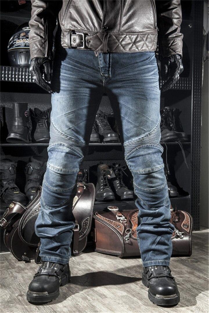 Gpfortysix Новый Мода 2017 г. Для мужчин Для женщин PK-718 мото джинсы мотоцикл езда Гонки Штаны с колодки цвет синий, черный; Большие размеры 34–43 S-3XL