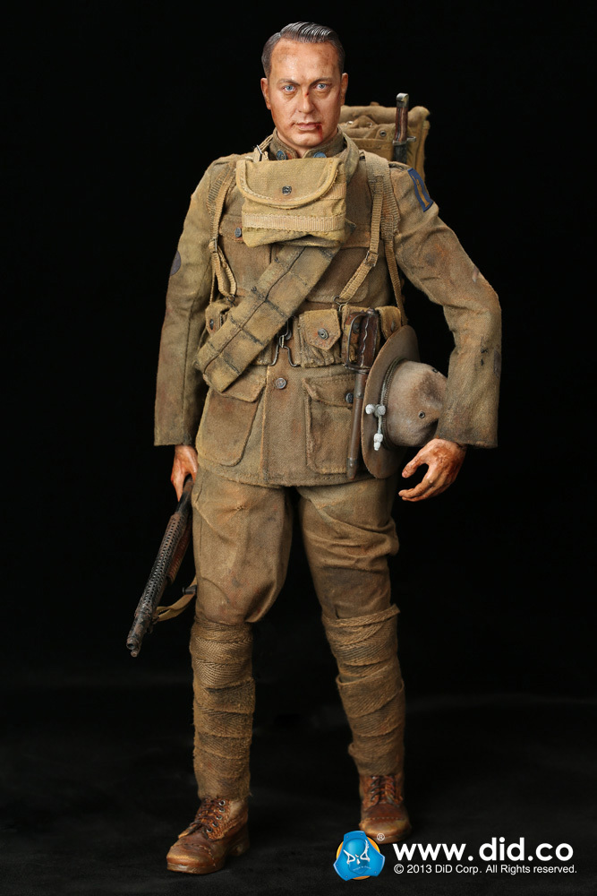 DID1/6 scale doll American Expeditionary Force Infantry Special Edition,Super flexible Figure model,WWI Soldier Finished Product did1 6 scale doll jean reno french soldiers special edition super flexible figure model toy wwi soldier finished product