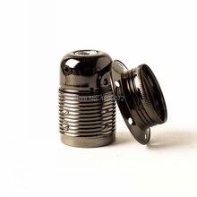 6 шт./лот Edison e27 металлический Железный держатель лампы подвесной светильник осветительный прибор
