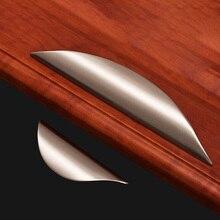Ручка ящика, дверцы, шкафа, современный минималистичный дверной рычаг шкафа, ручка шкафа для обуви с темными поручнями, черная ручка в скандинавском американском стиле