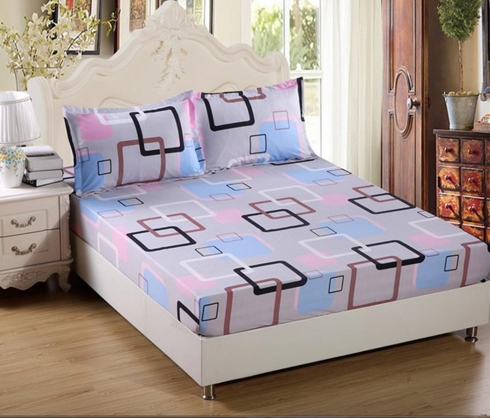 2pc Fitted Sheet Set Mattress Dai li four seasons coverlet protection to simmons mattress shoe dust sheet 1.2/1.5/1.8 m
