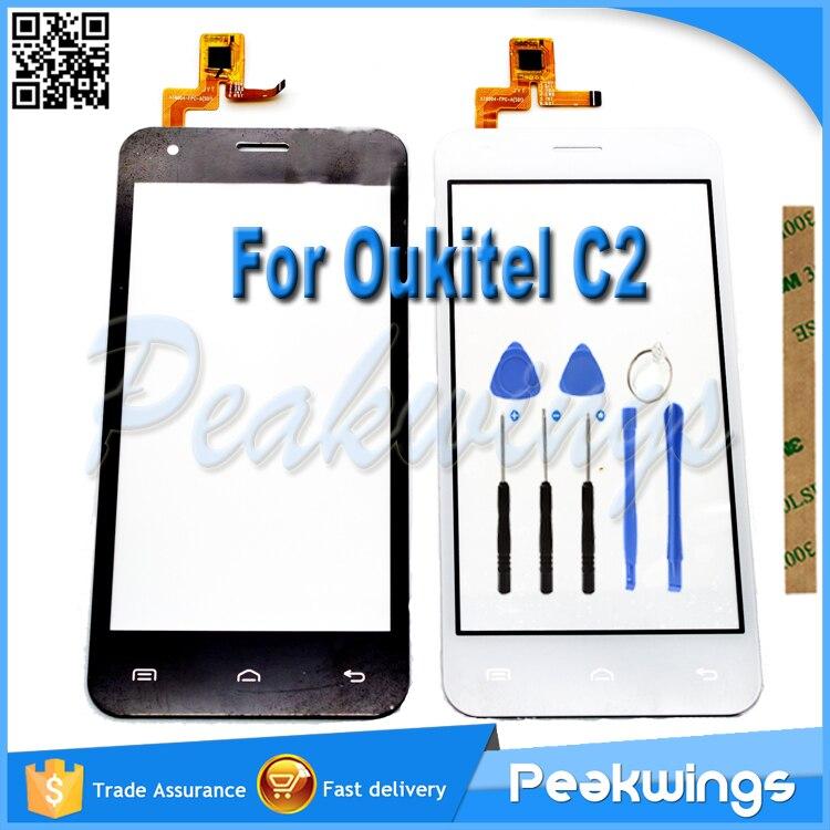 OUKITEL С2 Сенсорный Датчик Для OUKITEL С2 Сенсорный Экран с Панелью Дигитайзер