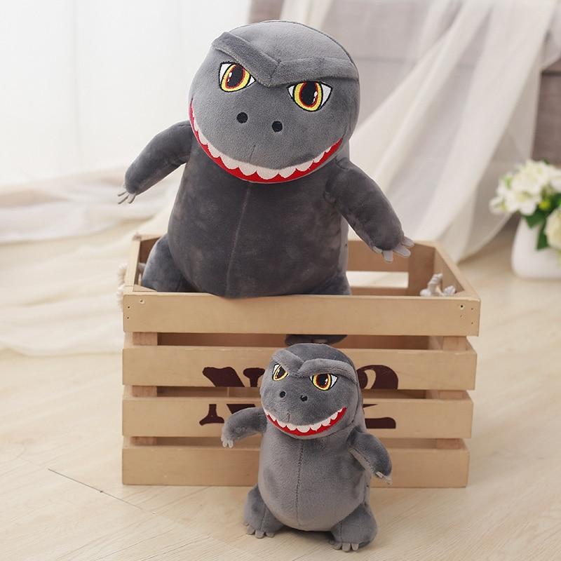 1pcs 35cm Cute cartoon Godzilla samll Monsters  dinosaur plush toy Godzilla doll boy children birthday gift retail