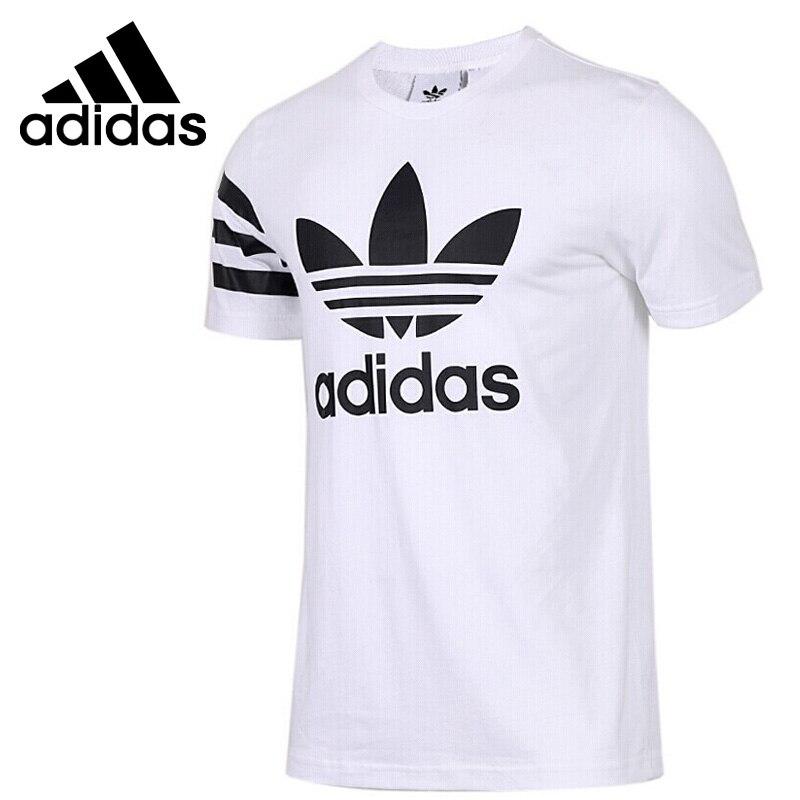 Nuovo Arrivo originale 2018 Adidas Originali degli uomini di T-Shirt manica corta Abbigliamento SportivoNuovo Arrivo originale 2018 Adidas Originali degli uomini di T-Shirt manica corta Abbigliamento Sportivo