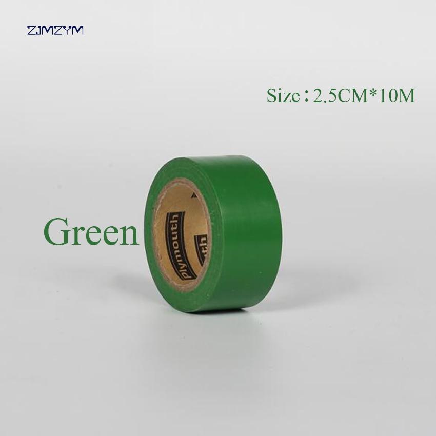 Multi-color 2.5cm * 10m ultra-thin waterproof insulation electrical tape electrical flame retardant PVC tape Repair Bonding Tool