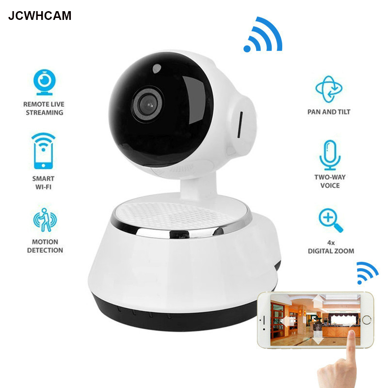 New ! Pan Tilt Wireless IP Camera WIFI 720P CCTV Home Security Cam Micro SD Slot Support ...