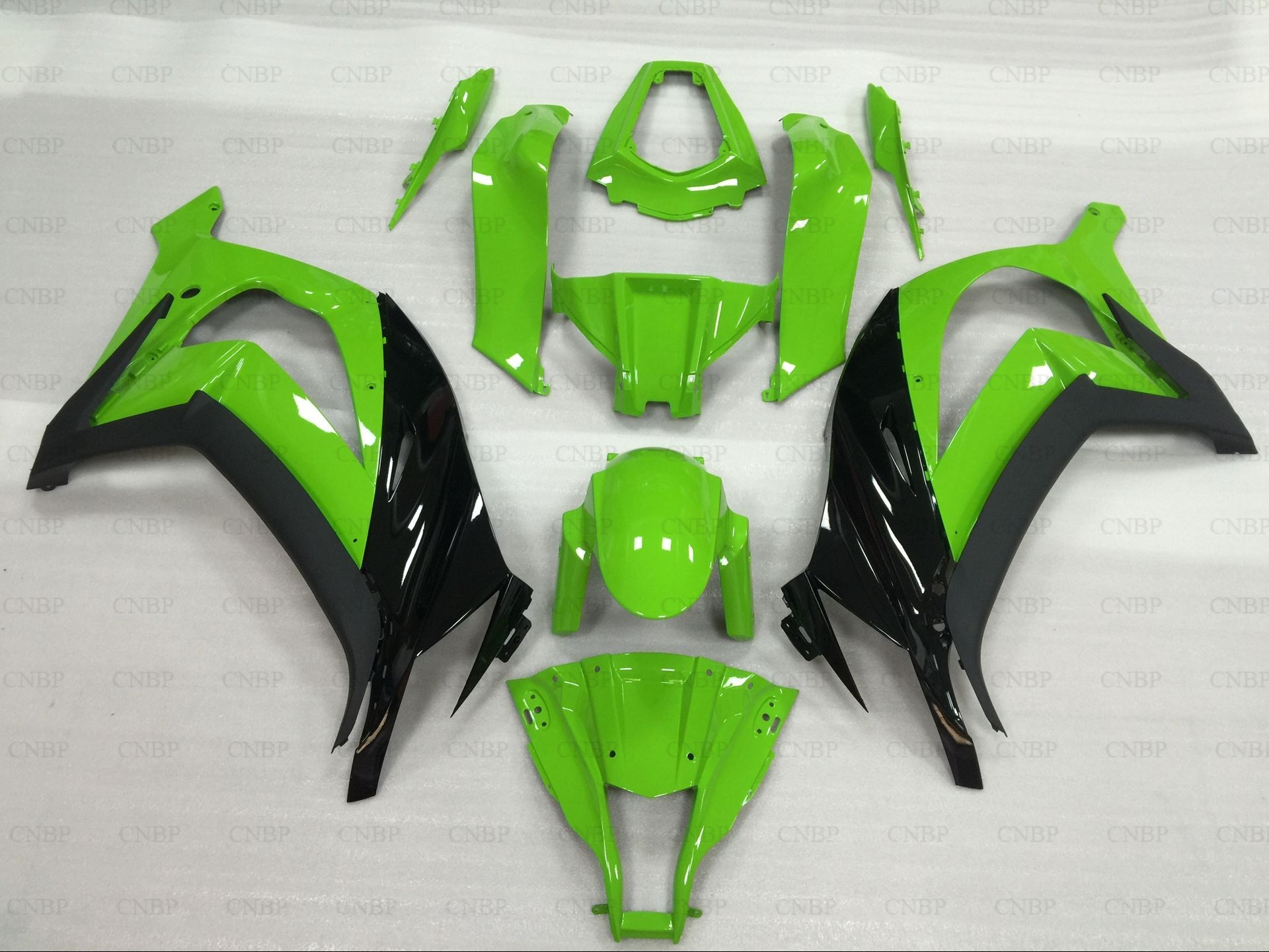 Fairing for Kawasaki ZX10r 2014 Abs Fairing ZX-10r 2013 2011 - 2015 Green Black Fairing ZX-10r 2015 hot sales zx 10r 2011 2012 2013 2014 2015 fairing set for kawasaki ninja zx10r zx 10r 11 15 body green kit injection molding