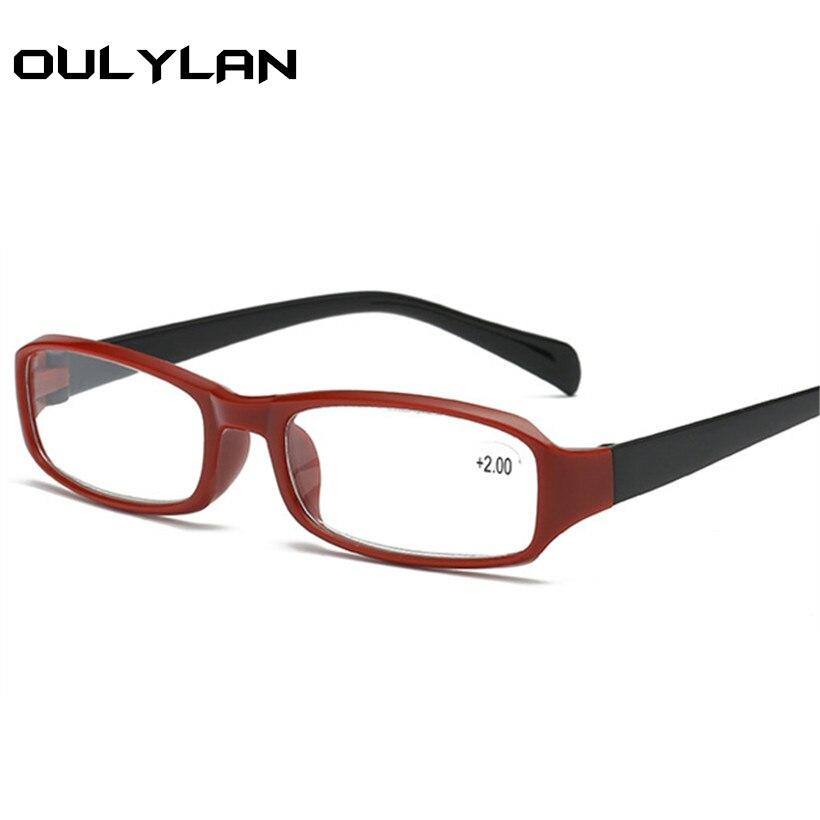 Oulylan унисекс Изящные Очки для чтения TR90 смолы HD объектив очки + 2,0 дальнозоркостью очки Для женщин белые очки + 1,5 2,0 2,5 3,0
