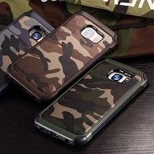 Army Camo Camouflage Pattern Back Cover For Samsung Galaxy S5 S6 S7 edge Note 9 8 5 4 G530 Case Hard Plastic Soft TPU Armor Case(China)