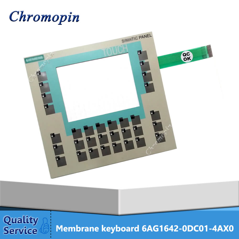 Membrane keyboard for 6AG1642-0DC01-4AX0 6AG1 642-0DC01-4AX0 6AG1642-0DC01-4AX1 6AG1 642-0DC01-4AX1 SIPLUS HMI OP177B membrane switch for 6ag1642 0bd01 4ax0 siplus hmi tp177b 4 inch