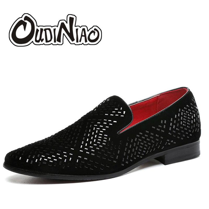 super specials delicate colors huge discount US $24.82 50% OFF|OUDINIAO Sequins Rhinestone Branded Shoes Men Luxury  Loafers Men Shoes British Style Summer Shoes Mens Casual Zapatillas  Hombre-in ...