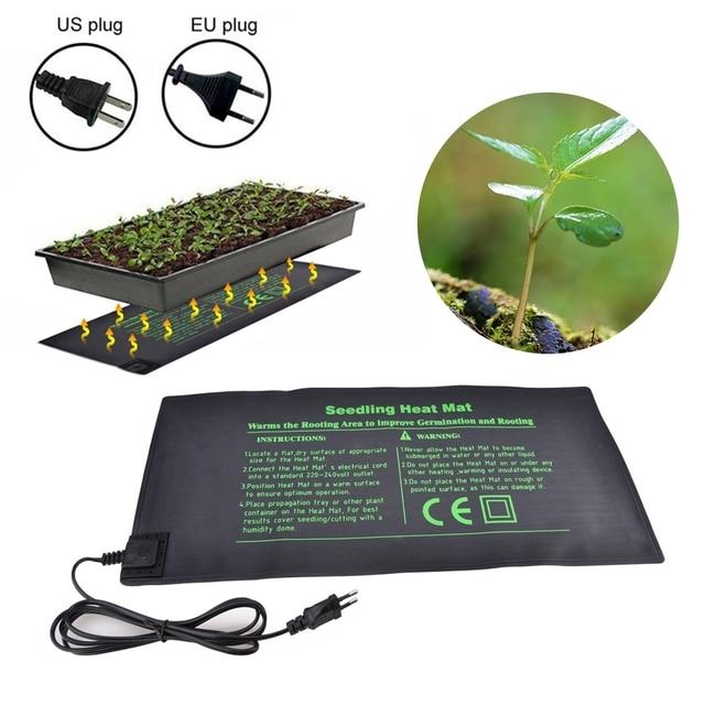 Seedling Heat Mat Electric Germinator Greenhouse Heating Pad Plant Seed Germination Gardening Waterproof Garden Supplies
