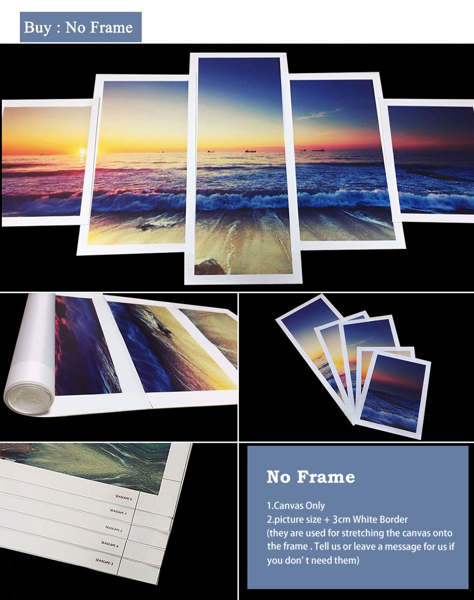Canvas HD Prints Paintings For Living Room Home Decorative Poster Wall Art Pictures Framework