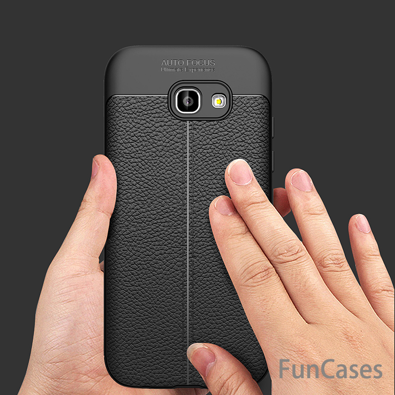 For Samsung Galaxy A5 2017 Case Luxury Soft TPU Leather Case For Samsung Galaxy A3 A7 J3 J5 J7 2017 Prime Note 8 S7 Edge S8 Case