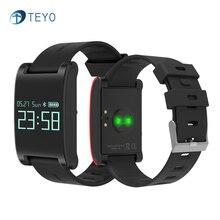Teyo умный Браслет S17 сердечного ритма браслет крови Давление Водонепроницаемый напоминание Bluetooth Pulsera inteligente для Android и IOS