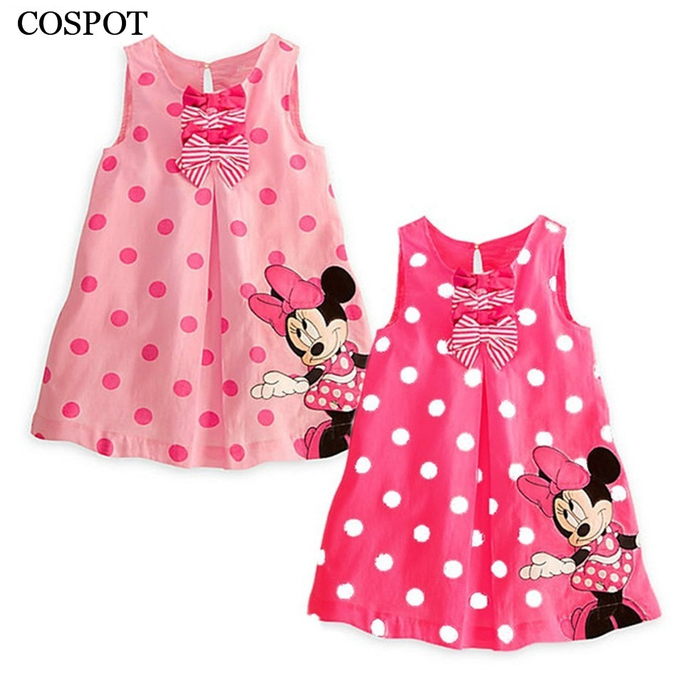 Baby Girl Summer Dress Girls Cute Pink Red Dresses Girl's ...