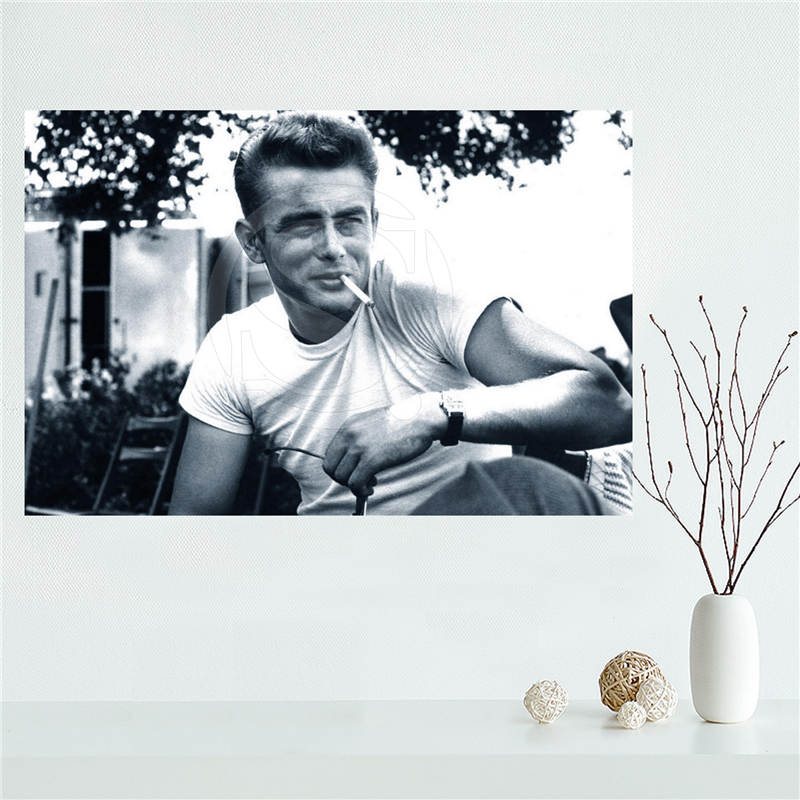 Y530l26 Custom James Dean Marilyn Monroe Canvas Schilderij Muur