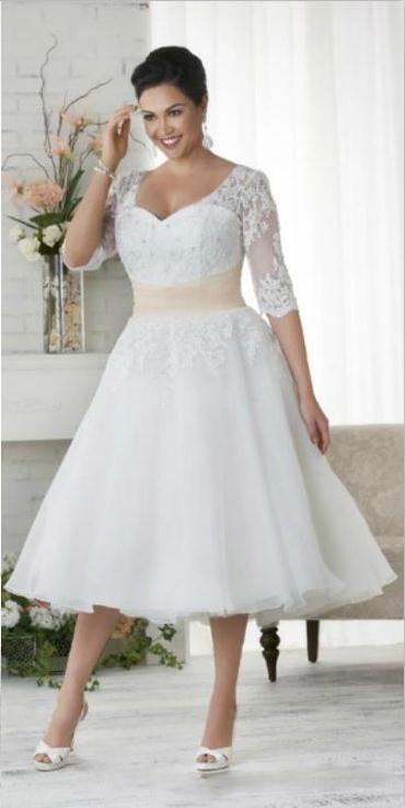 Popular plus size wedding dresses under 100 buy cheap plus for Cheap wedding dresses under 100 for plus size