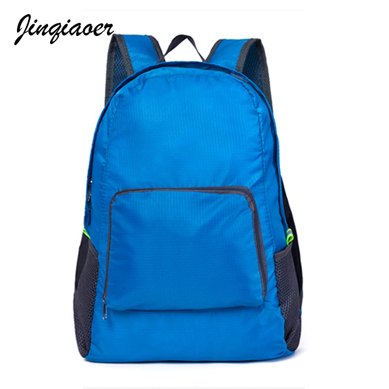 2018 Fashion Women Nylon Multi-functional Waterproof Backpacks High Quality Female Solid ...