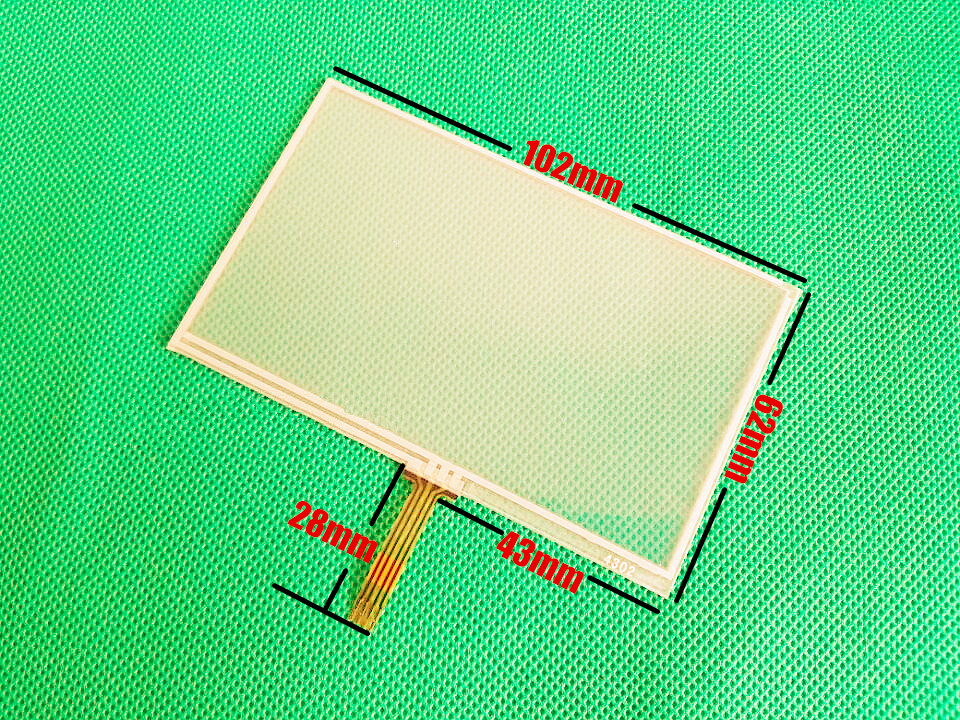 wholesale New 4.3-inch Touch screen panels for GARMIN Nuvi 40 40LM 40LMT GPS Touchscreen digitizer panel replacement