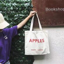 Женские холщовые сумки Женская толстовка Простые повседневные сумки для покупок с принтом многоразовые для бакалейный продуктов сумки на плечо