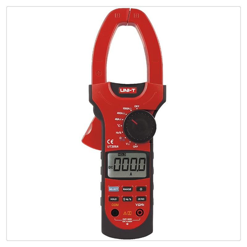 UNI-T UT208A True Rms Professional Auto/Manual Range Digital Clamp Multimeters w/ Capacitance Temperature Test 1000A Teater фильтр aqua el uni max professional fzkn 700 внешний