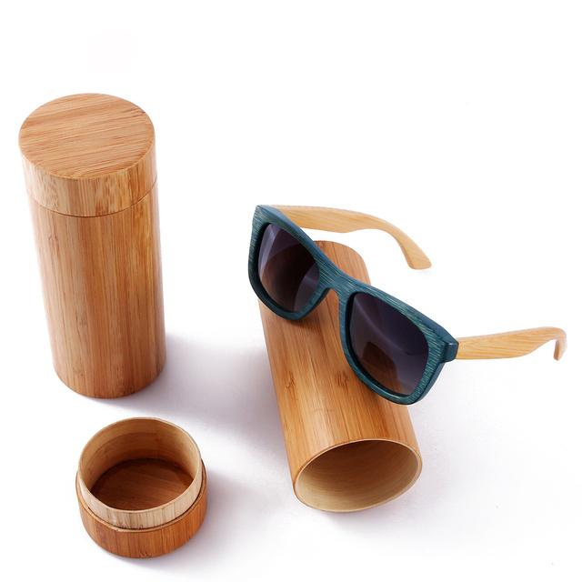 2016 Bambu óculos de sol de madeira de bambu óculos de sol óculos de sol de verão