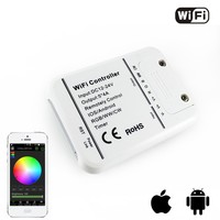 DC12v 24V 12A Wifi Rgb Rgbw Color Temperature Dimmer Led Controller Control By Android IOS
