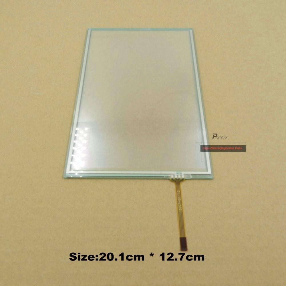 b223 4184 2 pcs touch screen do painel de vidro para ricoh aficio mpc 2500 c2800