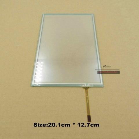 b223 4184 2 pcs touch screen do painel de vidro para ricoh aficio mpc 2500