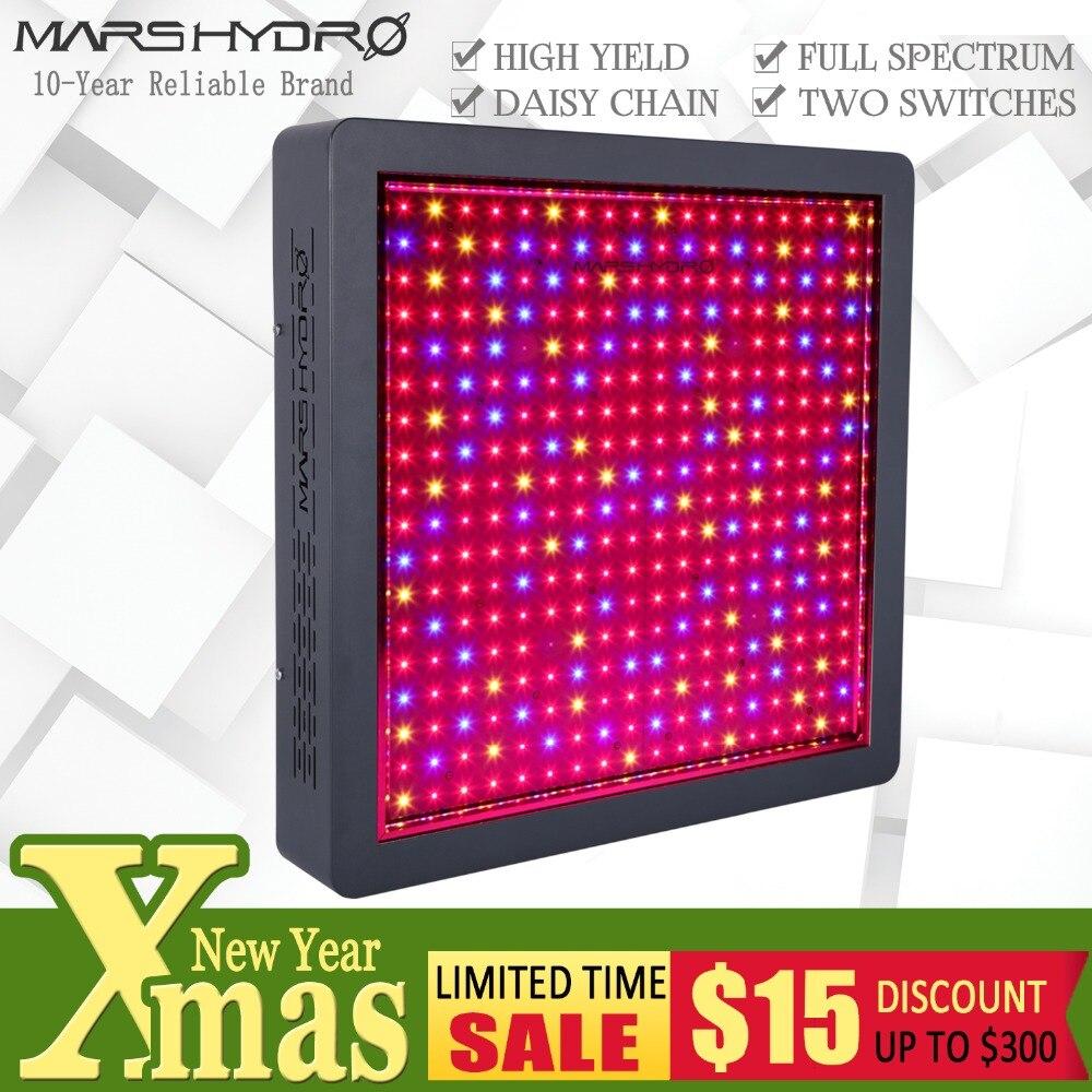 Mars Hydro Mars II 1600 Spectre Complet LED Élèvent La Lumière pour Jardin Intérieur Hydro Système Hydroponique Veg Fleur Plantes Médical