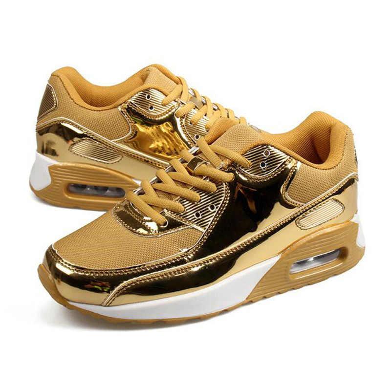 LAKESHI Frauen Sneakers Mode Atmungsaktive Frauen Schuhe 2019 Neue Mesh Casual Schuhe Weibliche Outdoor Wanderschuhe Große Größe 35- 46
