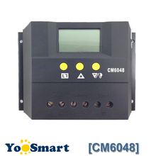 60A Solar Charge Controller 48V LCD Display PV Panel Battery Charge Controller Solar System Home Indoor Use CM6048 стоимость