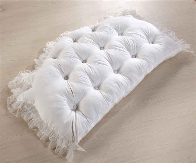 big pillows for bed Bedding rustic 100% cotton big bedside bed Cushion Princess  big pillows for bed