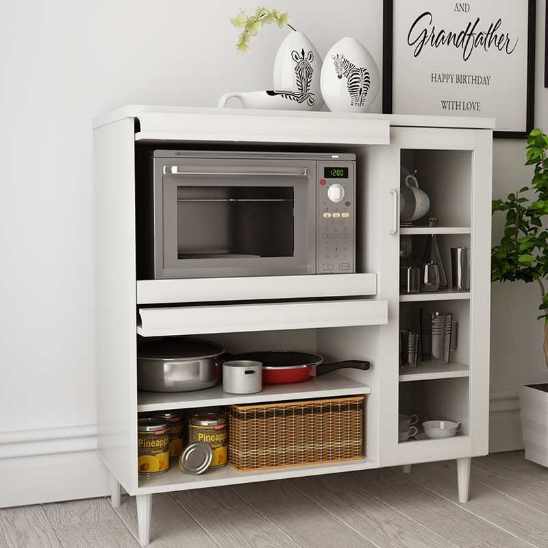 Modern Minimalist Kitchen Cabinets: Ikea Minimalist Sideboard Tea Cupboard Cabinets Modern
