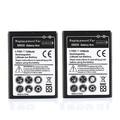 2X 1350mah Replacement EB494358VU Bateria For Samsung Galaxy Ace S5830 Gio S5660 S5670 Pro B7510 i569 Celular Battery