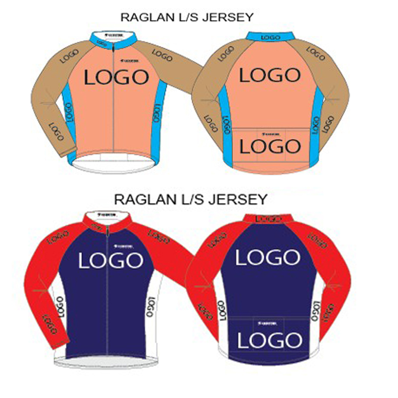 Custom cycling jersey, Spring and Autumn long sleeve cycling uniform customize bike wear for Man and Women Child free designs diy custom cycling jersey short sleeve and tight bib shorts combo cycling sets bike clothing for man women child