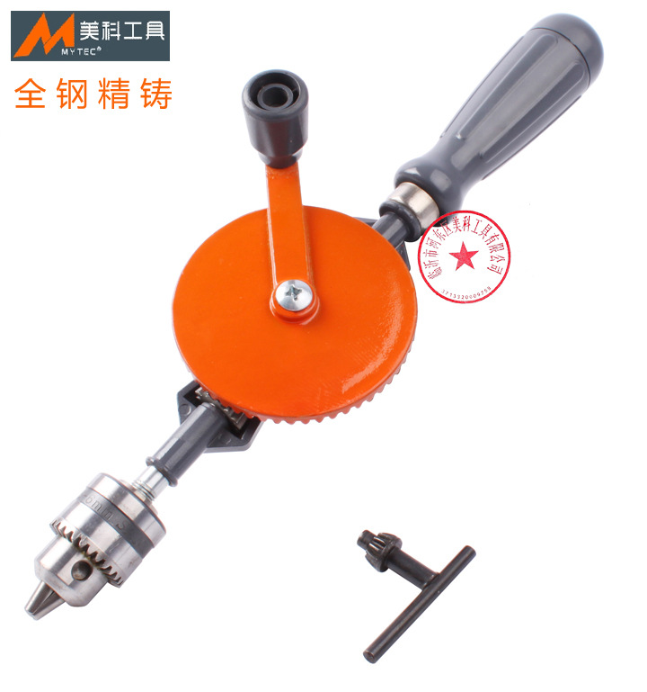 DIY woodworking drill hand drill drill teaching supplies tools by hand All steel precision casting 6mm models atomic orbital of ethylene molecular modeling chemistry teaching supplies