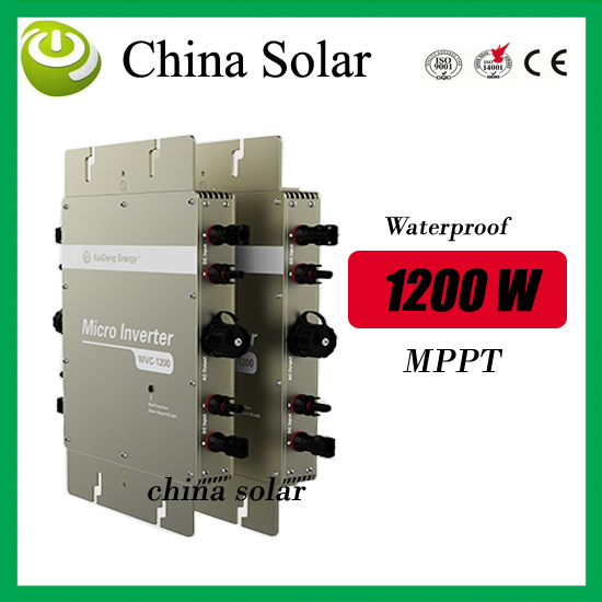 high quality 1200W solar grid tie micro inverter high efficiency& competitive price  from factory direct high quality 1200w solar grid tie micro inverter high efficiency
