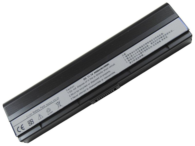 4400mah New Laptop Battery For Asus N20 N20A U6 U6E U6Ep U6S U6Sg U6V U6Vc Series,90-NFD2B1000T A32-U6 A33-U6+free Shipping