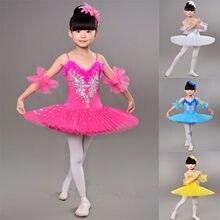 89818b2e0 2018 new girls Ballet Cotumes Dança Ballet Profissional Tutus crianças  Traje Meninas Leotard Ballet Tutu Dança