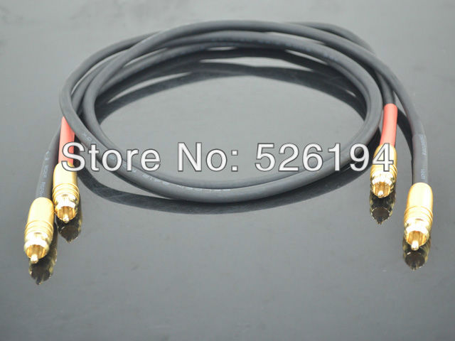Free shipping one pair Furutech ALPHA P2.1 RCA Audio Cable  with Gold plated connectors plug free shipping pair furutech alpha p2 1 audio interconnect cable with silvrlink rca plug connector