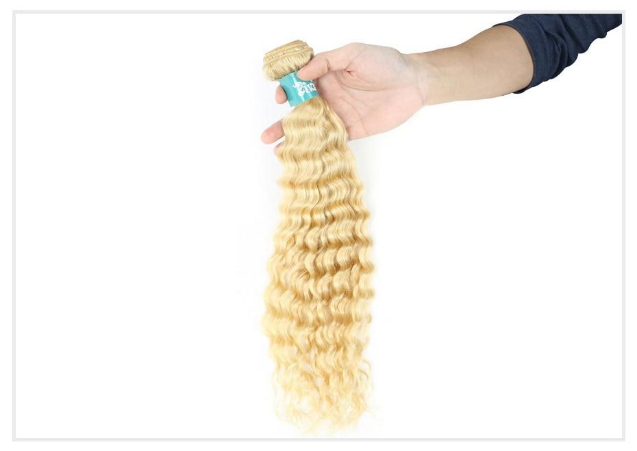 613 Blonde Curly Hair Bundles (1)
